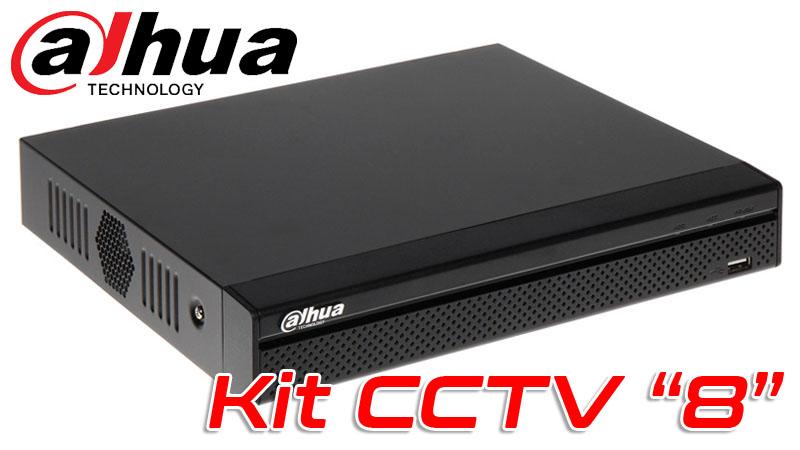 Kit CCTV 8
